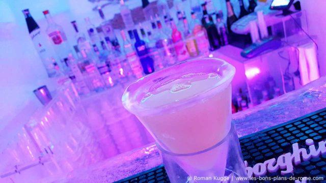 ar de glace Cocktails Boissons Rome