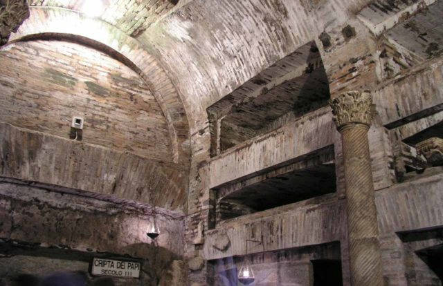 Catacombes Rome Saint-Calixte