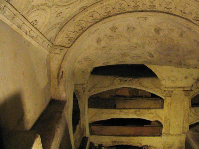 Catacombes Rome Saint-Sebastien