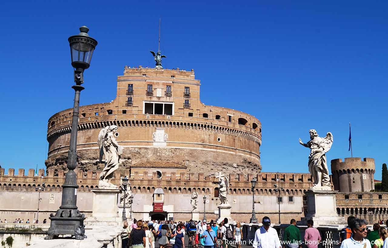 Visite Du Chateau Saint Ange A Rome
