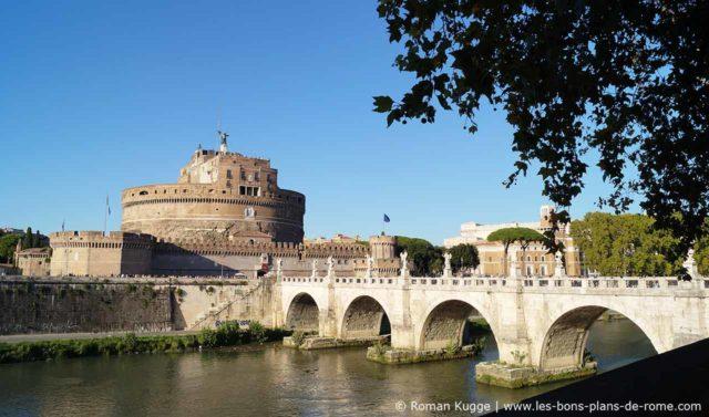 Château et Pont Saint-Ange Rome