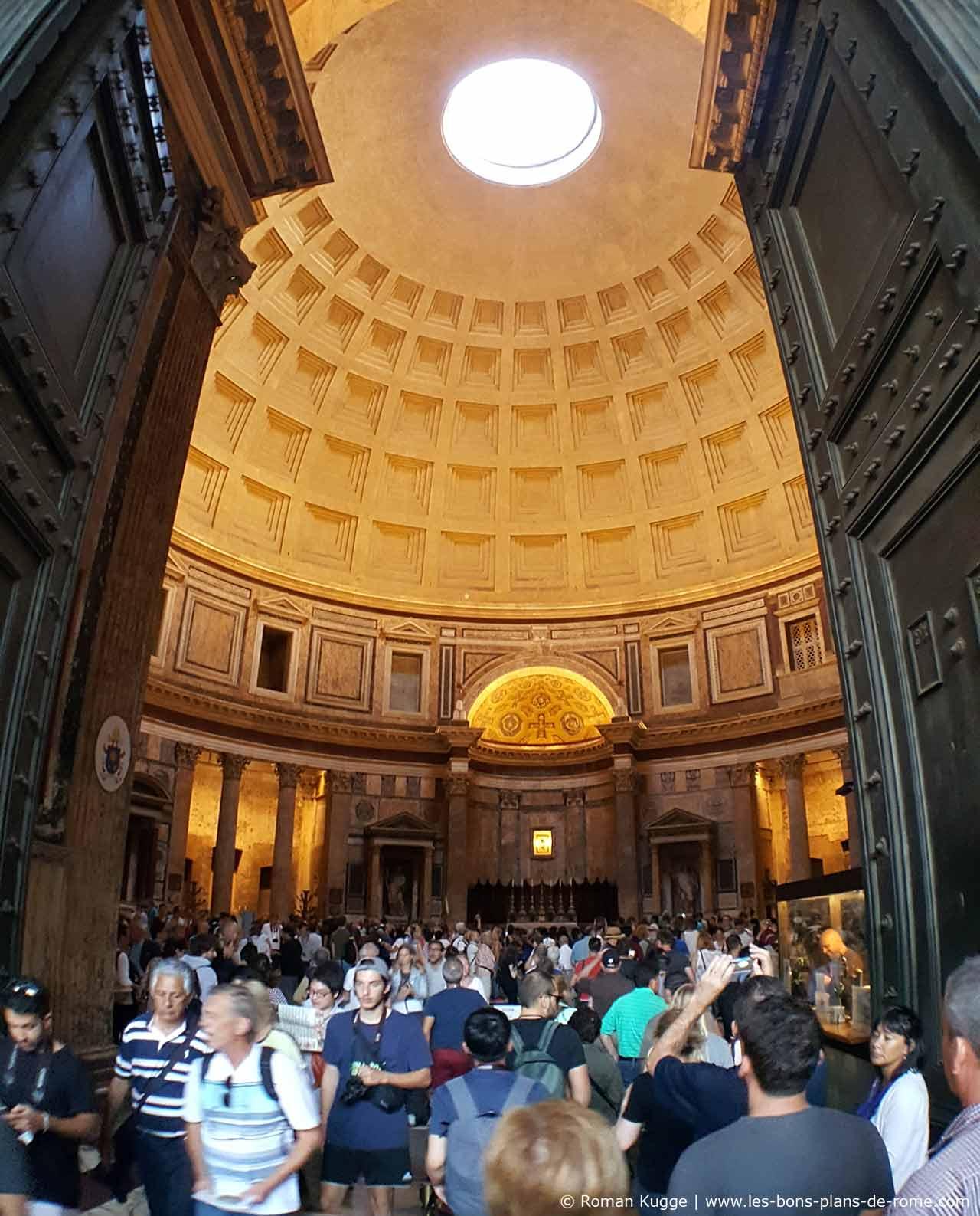Entrée Panthéon Rome