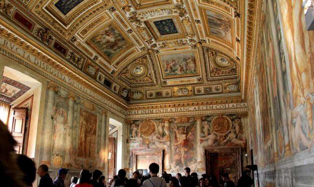 Fresque Château Saint-Ange Castel Sant Angelo