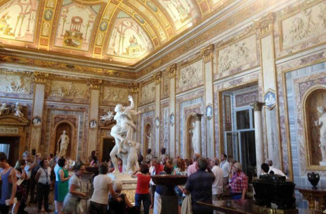 Galerie Borghese Rome Hall des Empereurs