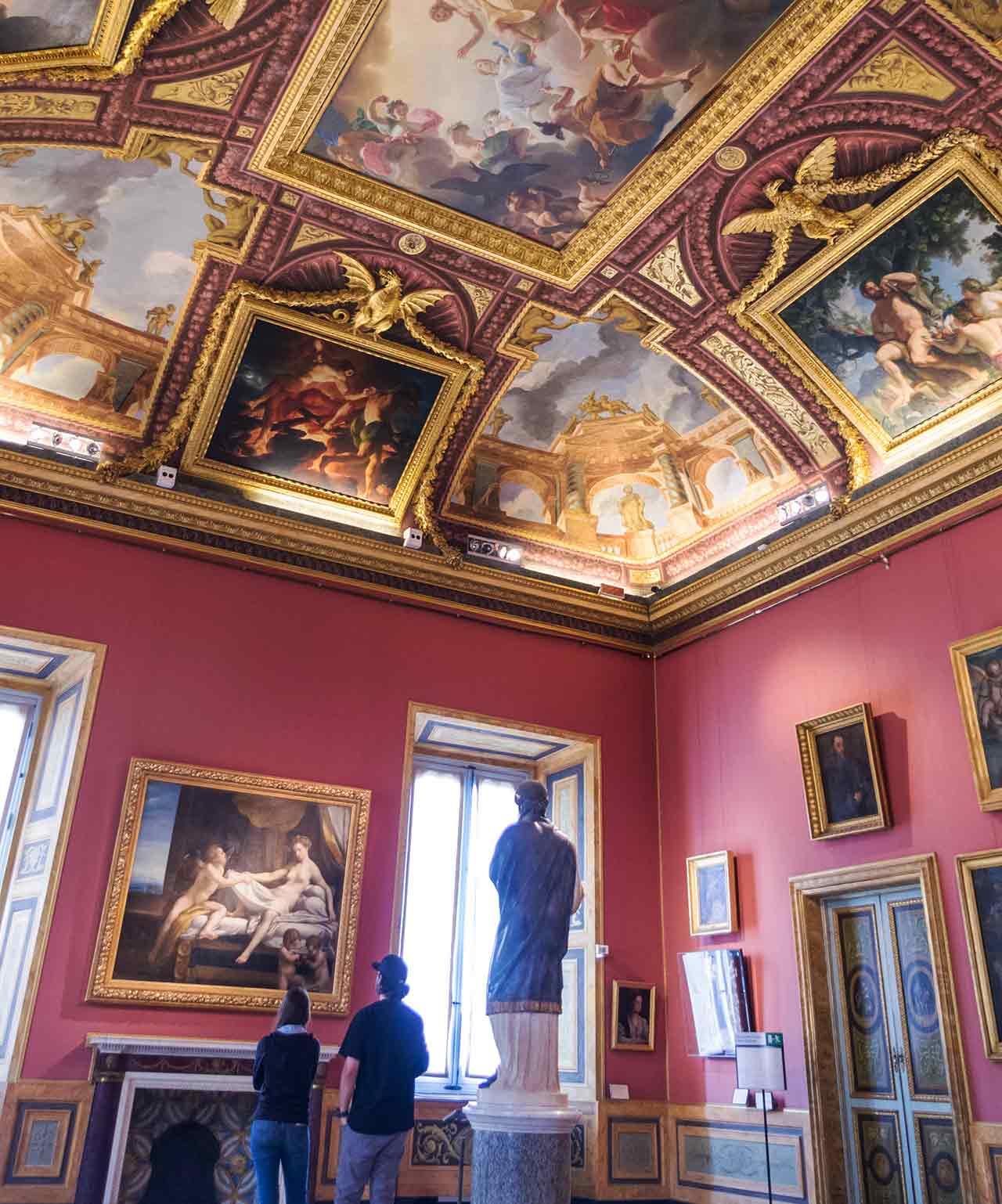 Galerie Borghese Rome Peintures