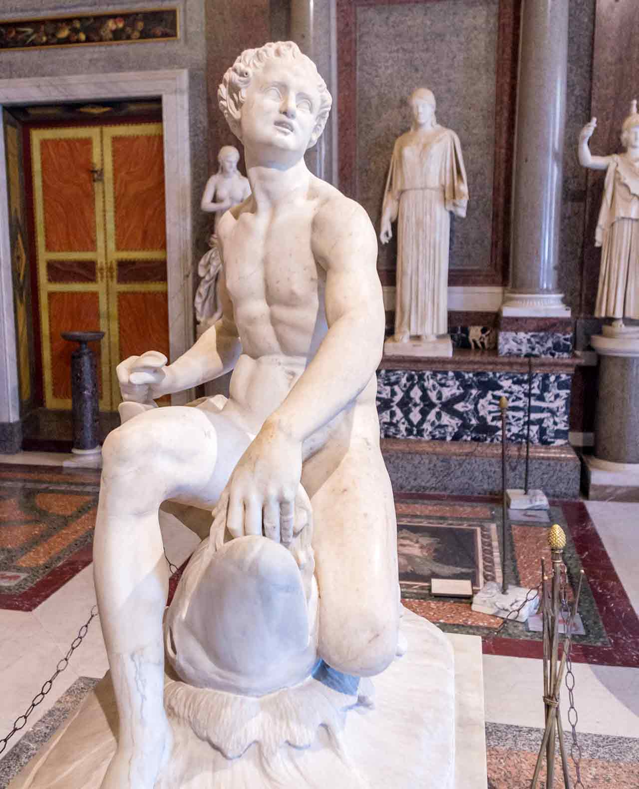 Galerie Borghese Rome Statue Sculpture