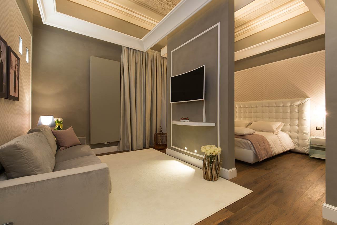 le quattro dame r sidence de luxe rome les bons. Black Bedroom Furniture Sets. Home Design Ideas