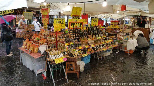 Marché Campo de Fiori Arnaque Touriste