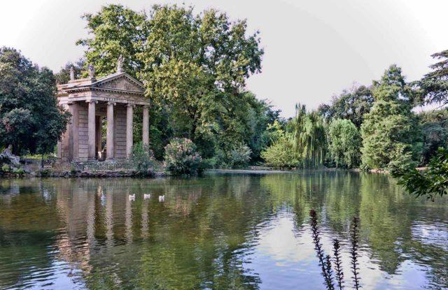 Parc Villa Borghese a Rome