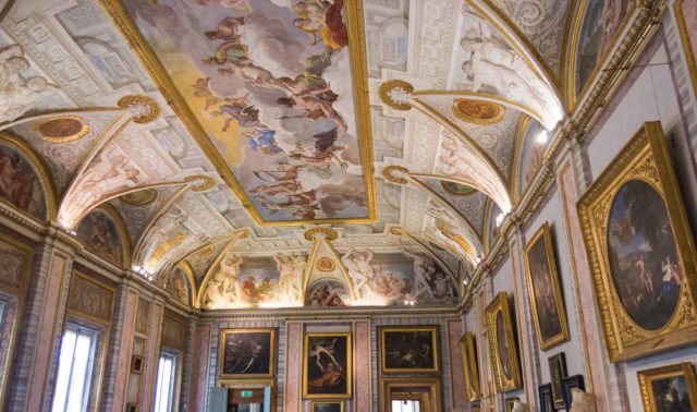 Plafond Galerie Borghese