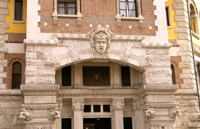 Quartiere Coppede Rome Palais de l'Araignée
