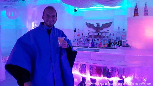 Rome Bar de glace Roman