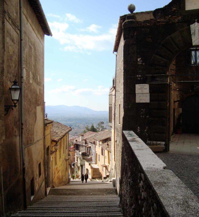 Rue Escaliers Vue Palestrina