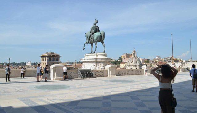 Statue equestre Il Vittoriano