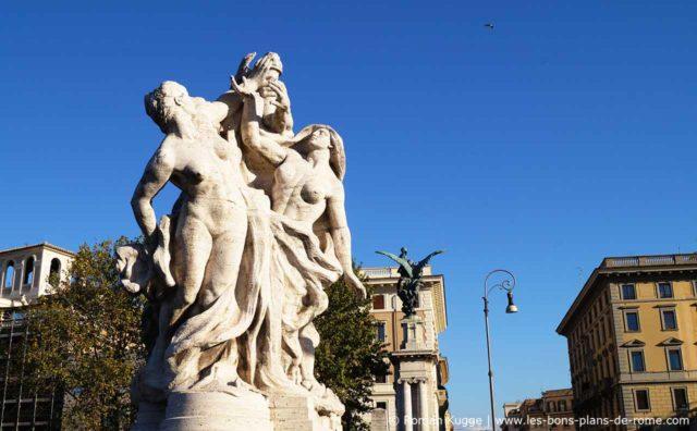 Statues Pont Saint-Ange