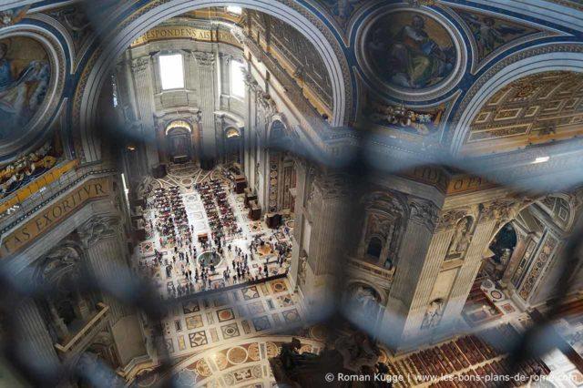 Visite de la coupole de la basilique saint pierre les for Exterieur basilique saint pierre