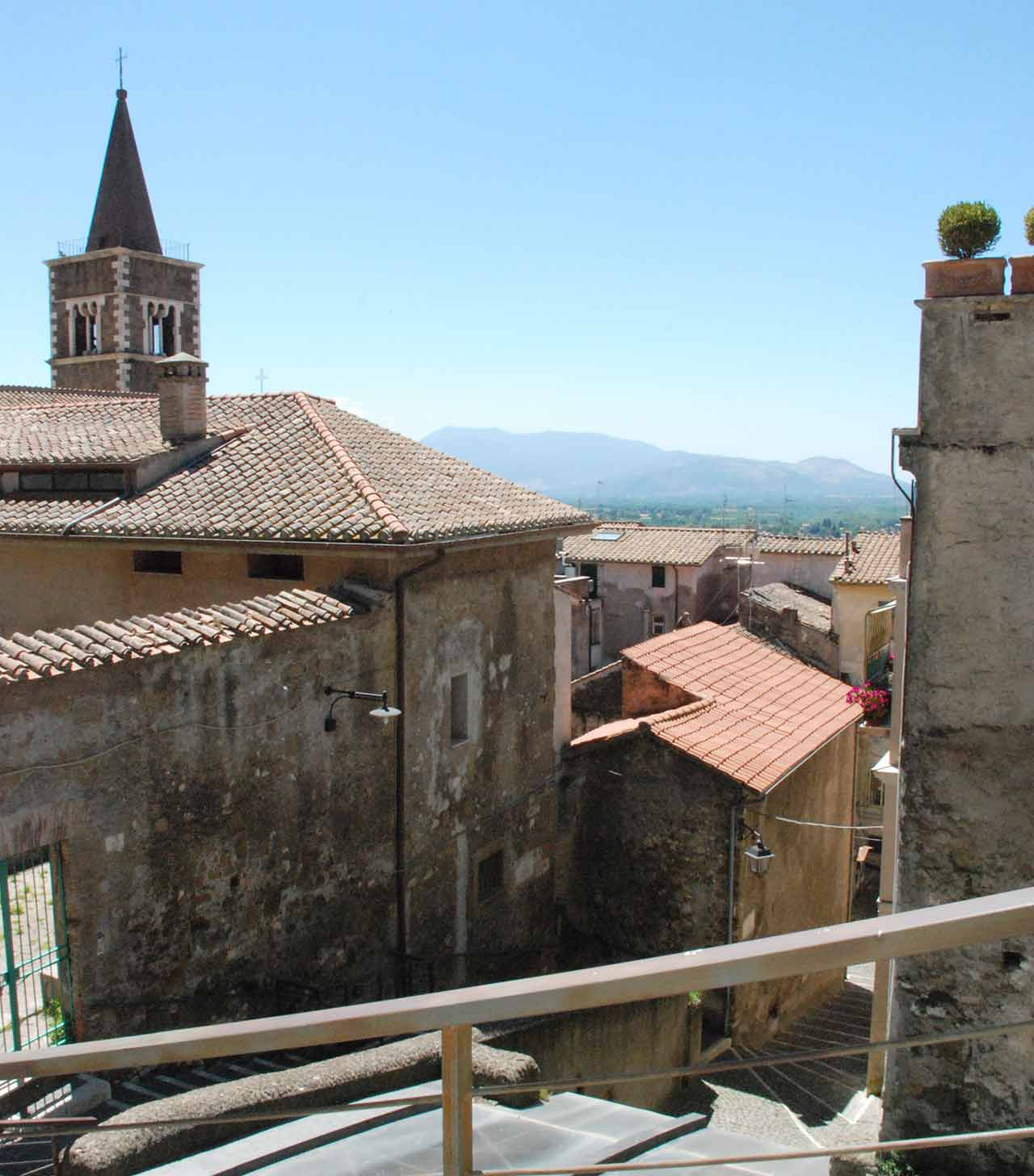 Vue panoramique Palestrina