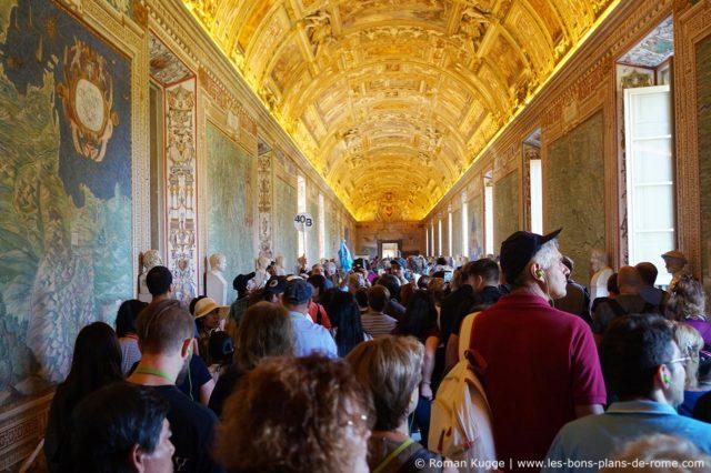 Affluence Musees du Vatican