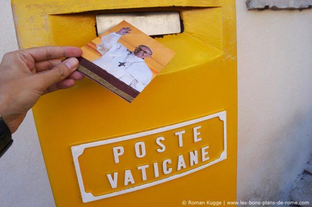 Carte postale poste Vatican