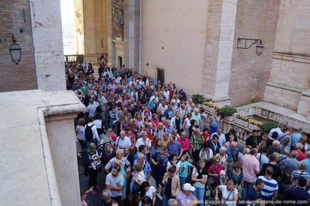 File d'attente Vatican