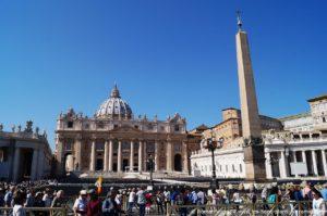 Place Saint Pierre Vatican Obelisque