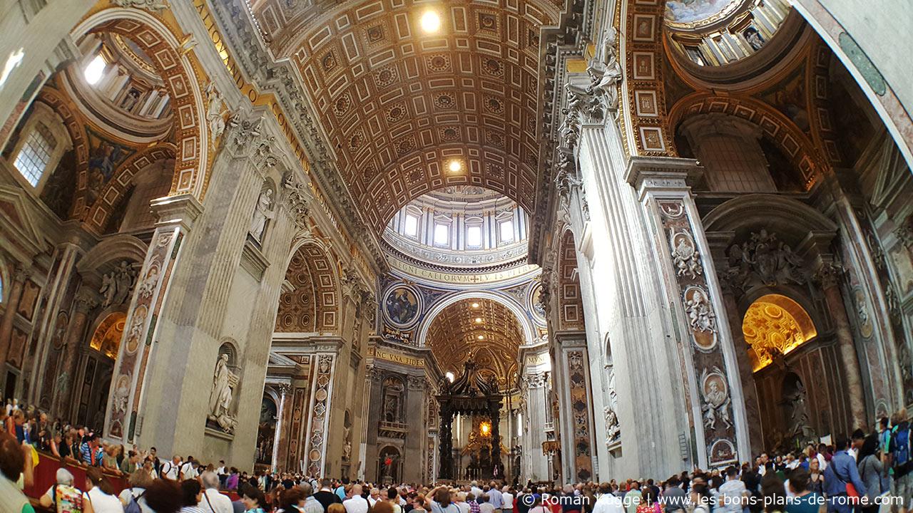 Tarifs prix et billets pour la basilique saint pierre for Exterieur basilique saint pierre