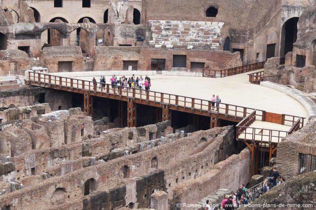 Visiter l'Hypogée Colisée Rome