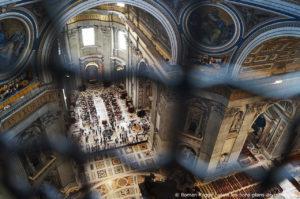 Vue Coupole Basilique Saint-Pierre