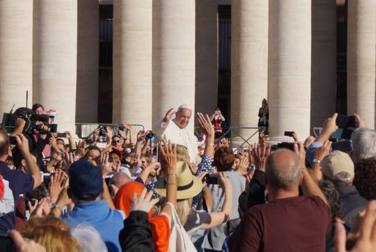 Audience messe papale Rome