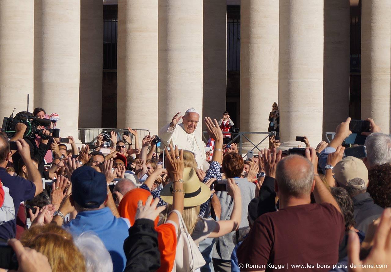 noel 2018 rome Audience messe papale Rome | Les Bons Plans de Rome noel 2018 rome