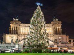 Il Vittoriano Sapin de Noël Rome