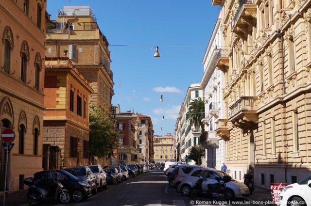 Quartier Borgo à Rome