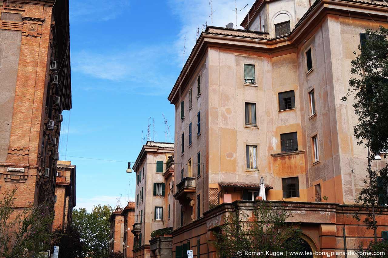 Quartier Testaccio A Rome