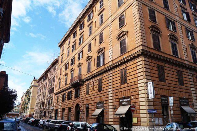 Quartier Testaccio à Rome
