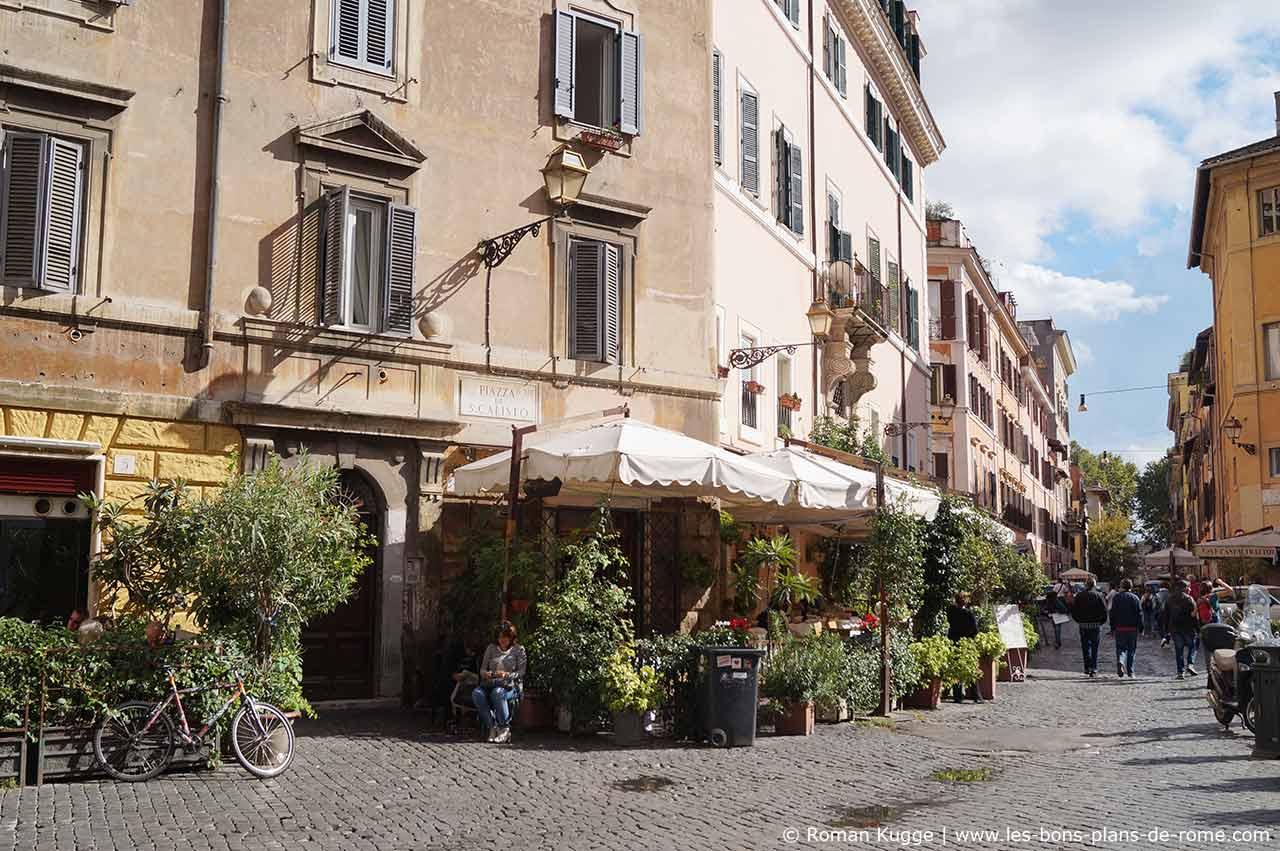 Quartier Trastevere A Rome