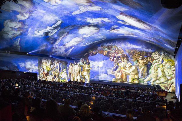 Spectacle son et lumière Rome Michel-Ange, le Jugement Dernier