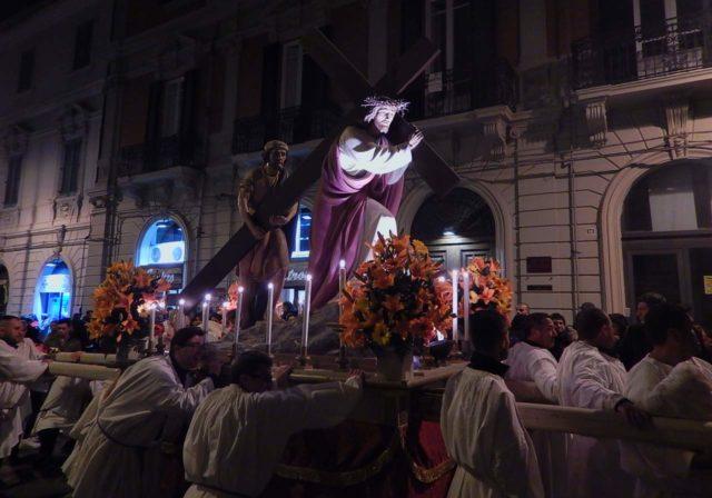 Chemin de Croix Procession Rome