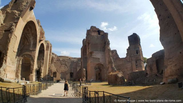 Thermes de Caracalla à Rome