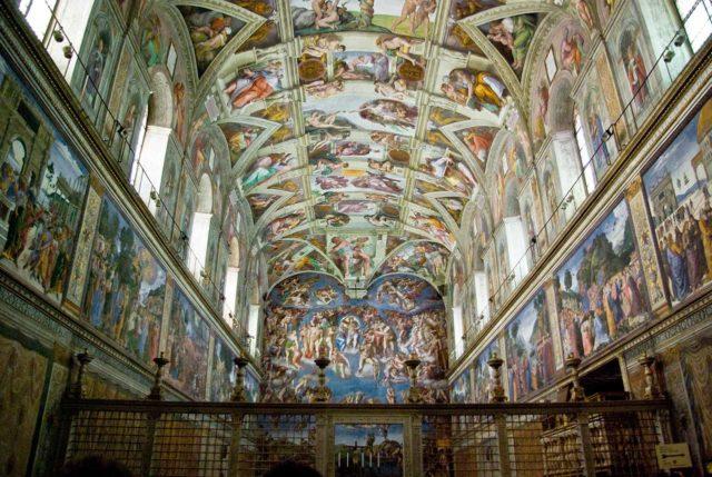 Chapelle Sixtine à Rome