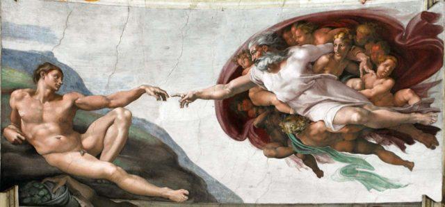 Chapelle Sixtine La Création d'Adam