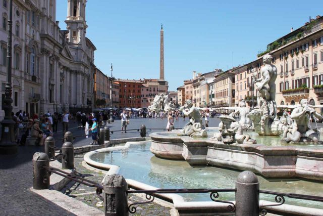 Place Navone Rome Fontaine Fontana del Moro
