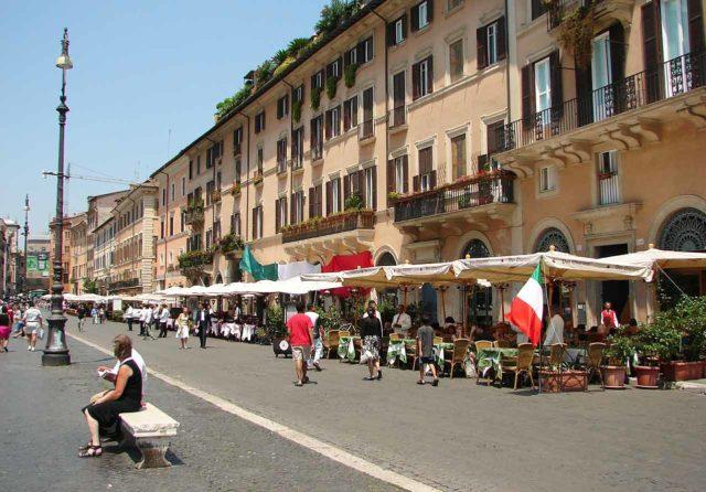 Place Navone Rome Restaurants Cafés