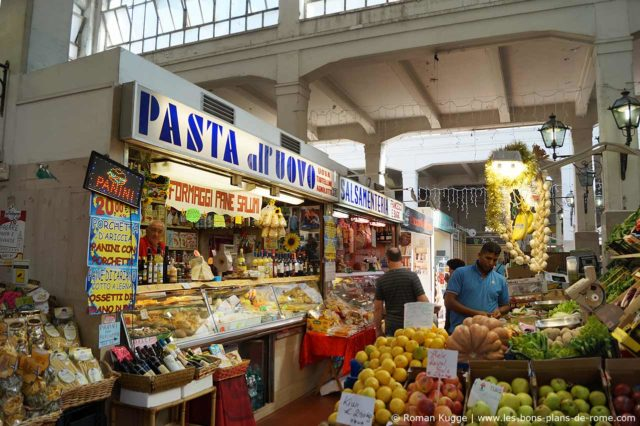 Marché Rome Mercato dell Unita