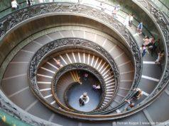 Musées du Vatican Rome Escalier Bramante Double Helice