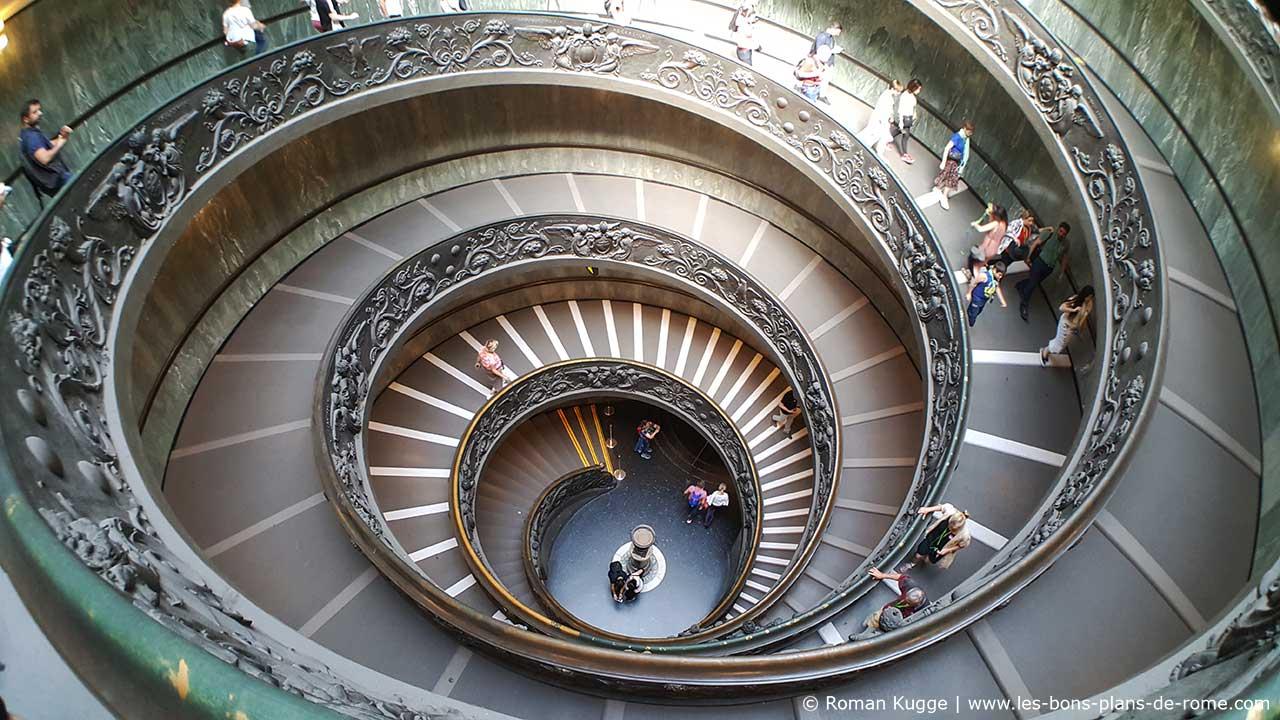 Lescalier De Bramante Escalier A Double Helices