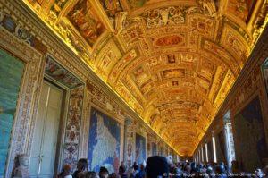 Musées du Vatican Rome Galerie des Cartes