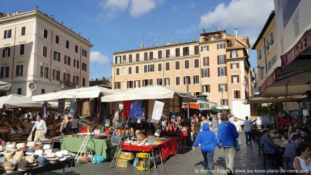 Rome Marché Campo de Fiori