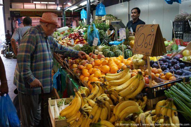 Rome Marché Nuovo Mercato Esquilino