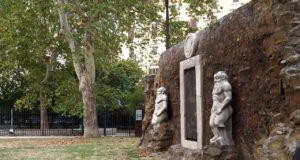 Porte magique Rome Porta Magica Alchemica