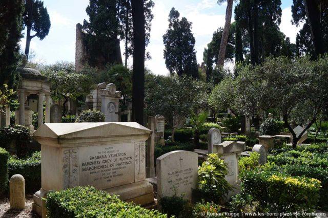 Cimetière Protestant Non-Catholique Rome